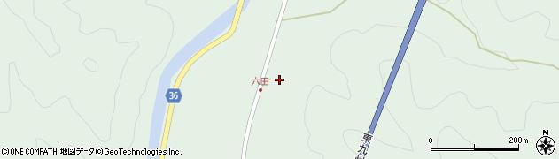 大分県佐伯市弥生大字床木494周辺の地図