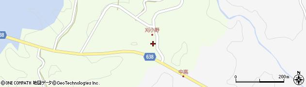 大分県竹田市刈小野195周辺の地図