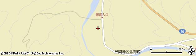 大分県佐伯市弥生大字尺間642周辺の地図