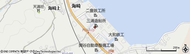 大分県佐伯市海崎842周辺の地図