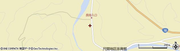 大分県佐伯市弥生大字尺間643周辺の地図