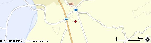 大分県竹田市米納1063周辺の地図