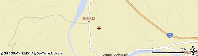 大分県佐伯市弥生大字尺間465周辺の地図