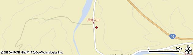 大分県佐伯市弥生大字尺間487周辺の地図