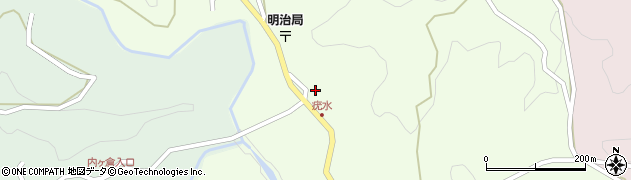 大分県竹田市植木1892周辺の地図