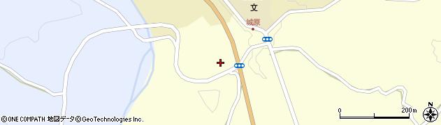 大分県竹田市米納神原周辺の地図