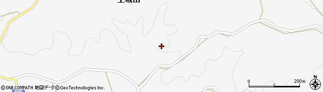 大分県竹田市上坂田上坂田東周辺の地図