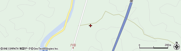 大分県佐伯市弥生大字床木631周辺の地図