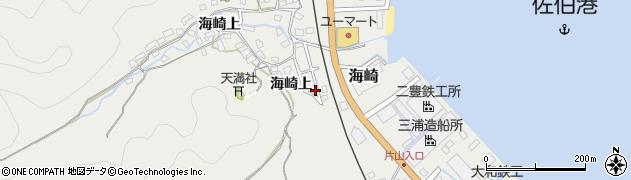 大分県佐伯市海崎1431周辺の地図