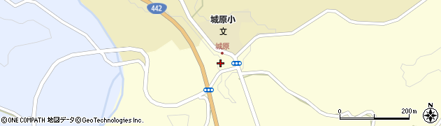 大分県竹田市米納1035周辺の地図