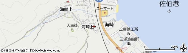 大分県佐伯市海崎1449周辺の地図