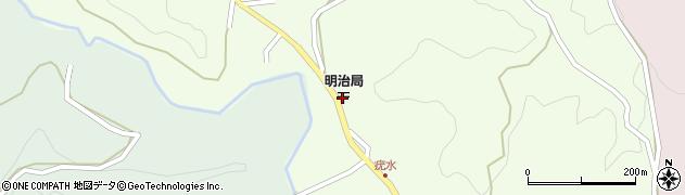 大分県竹田市植木周辺の地図