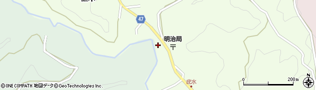大分県竹田市植木1932周辺の地図