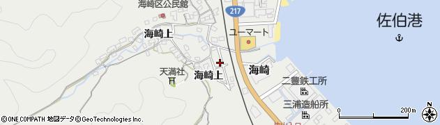 大分県佐伯市海崎1454周辺の地図