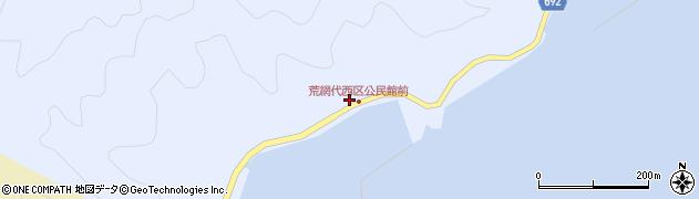 大分県佐伯市荒網代浦591周辺の地図