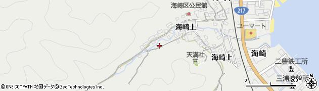 大分県佐伯市海崎1634周辺の地図