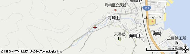 大分県佐伯市海崎1663周辺の地図