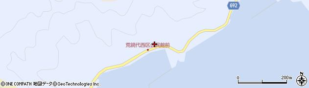 大分県佐伯市荒網代浦561周辺の地図