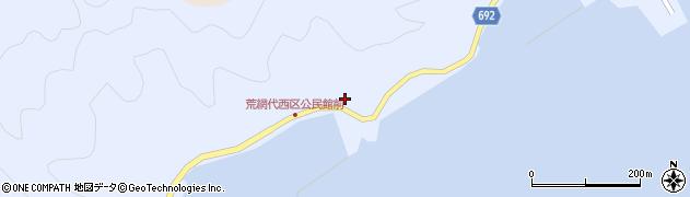 大分県佐伯市荒網代浦505周辺の地図