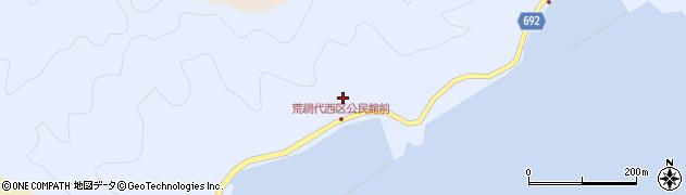 大分県佐伯市荒網代浦564周辺の地図