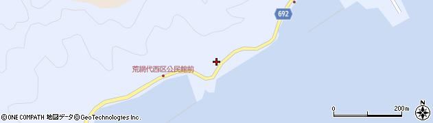 大分県佐伯市荒網代浦497周辺の地図