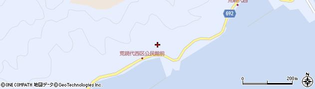 大分県佐伯市荒網代浦558周辺の地図