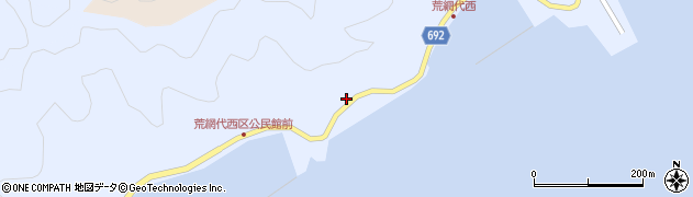 大分県佐伯市荒網代浦489周辺の地図