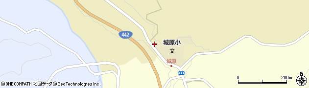 大分県竹田市城原1711周辺の地図