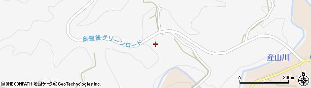 大分県竹田市久住町大字白丹6017周辺の地図
