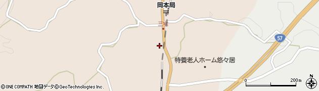 大分県竹田市三宅2064周辺の地図