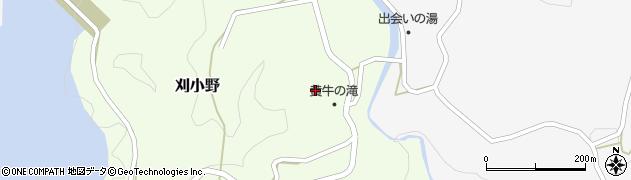 大分県竹田市刈小野289周辺の地図