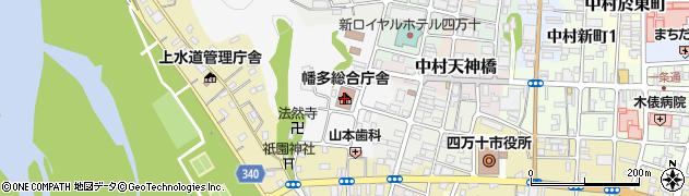 高知県四万十市中村山手通周辺の地図