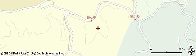 大分県竹田市米納2099周辺の地図
