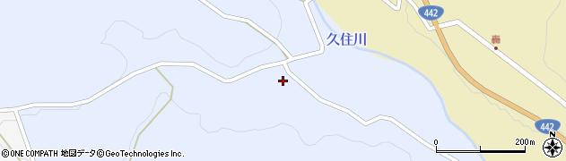 大分県竹田市下坂田下深迫周辺の地図
