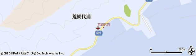 大分県佐伯市荒網代浦426周辺の地図
