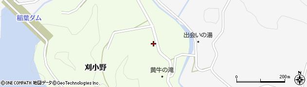 大分県竹田市刈小野324周辺の地図