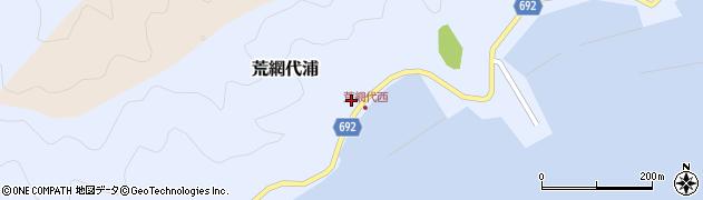 大分県佐伯市荒網代浦424周辺の地図