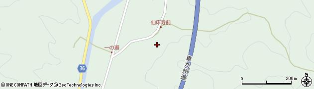 大分県佐伯市弥生大字床木772周辺の地図