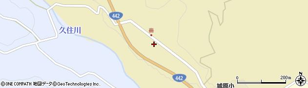 大分県竹田市城原1778周辺の地図