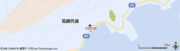 大分県佐伯市荒網代浦410周辺の地図