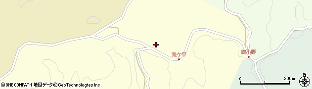 大分県竹田市米納2168周辺の地図