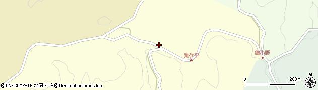 大分県竹田市米納2156周辺の地図