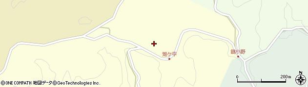 大分県竹田市米納2167周辺の地図