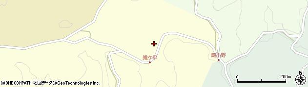 大分県竹田市米納2064周辺の地図