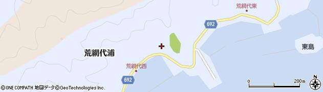 大分県佐伯市荒網代浦305周辺の地図