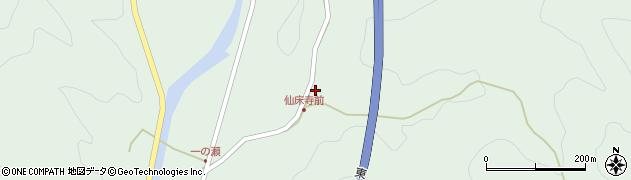 大分県佐伯市弥生大字床木867周辺の地図