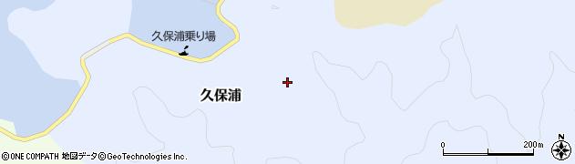 大分県佐伯市久保浦726周辺の地図