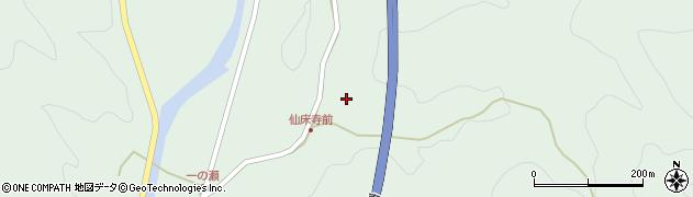 大分県佐伯市弥生大字床木870周辺の地図