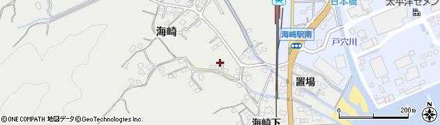 大分県佐伯市海崎2493周辺の地図