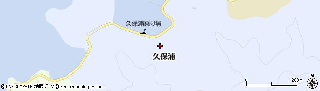 大分県佐伯市久保浦869周辺の地図